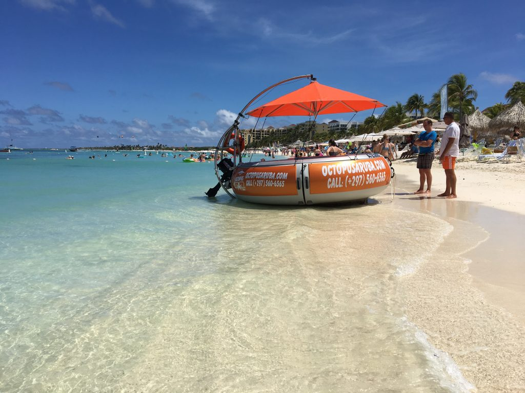 Aqua Donut Private Boat New On Aruba