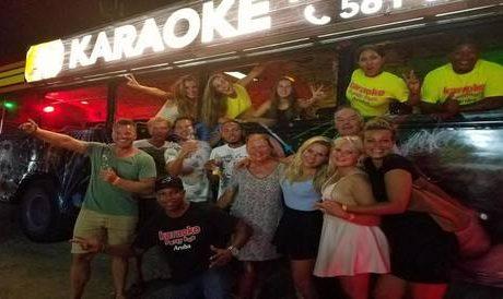 Aruba Karaoke Party Bus