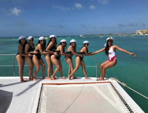 Bachelor or Bachelorette party with Octopus Aruba. The most entertaining way to party!