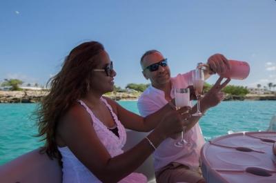 Champagne breakfast sail cruise Aruba